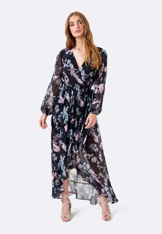 Zalora Ombre Wrap Dress: