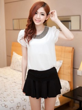 Women WHITE BLOUSE