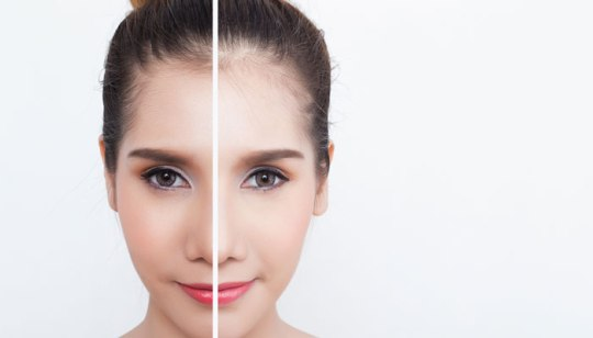 women glowing skin
