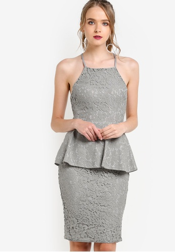 lace dress zalora