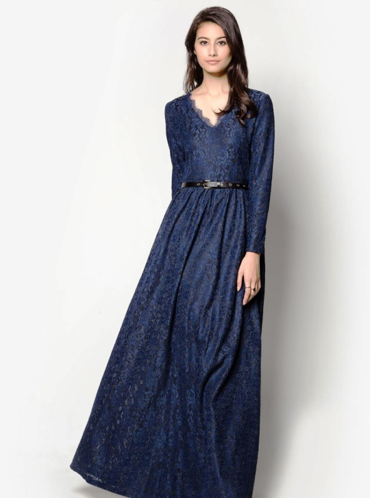POLYESTER MAXI DRESS Singapore
