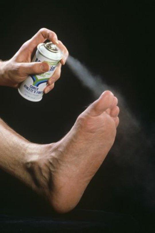 spray on feet