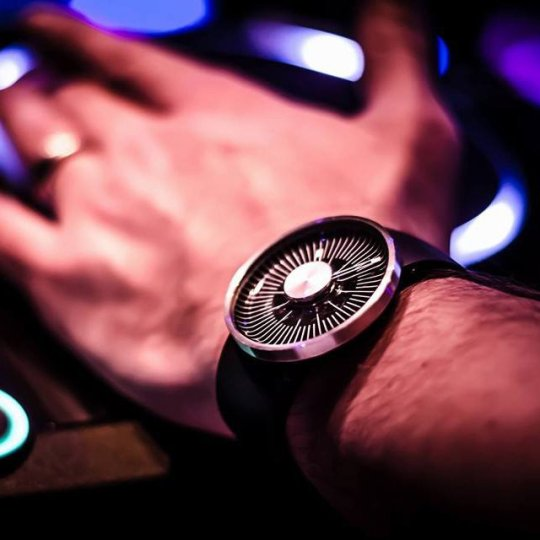 The Hacker Wrist Watch by Michael Young for ODM