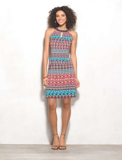 WOVEN COTTON DRESS Singapore